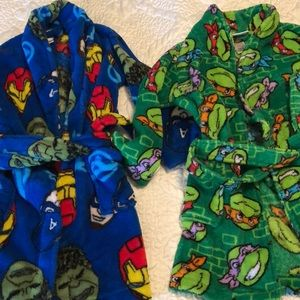 Other - Two 4t/4 boys robes